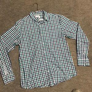 Casual Button Down Long Sleeve Shirt